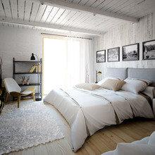 Фотография: Спальня в стиле Скандинавский, Квартира, Дом, Дома и квартиры, Проект недели – фото на InMyRoom.ru