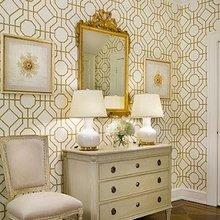 Фотография: Мебель и свет в стиле Классический, Декор интерьера, DIY, Дом, Декор дома, Цвет в интерьере, Обои – фото на InMyRoom.ru