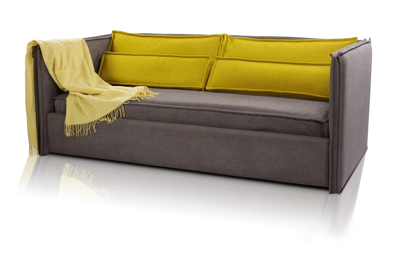 Кровать Solo v3 с подушками 190х90