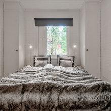 Фотография: Спальня в стиле Скандинавский, Советы, Белый, Дом и дача – фото на InMyRoom.ru