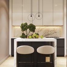 Фото из портфолио Кухня-гостиная в современном стиле – фотографии дизайна интерьеров на INMYROOM