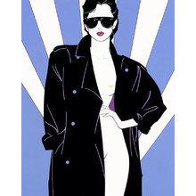 Картина (репродукция, постер): Lady One - Патрик Нагель