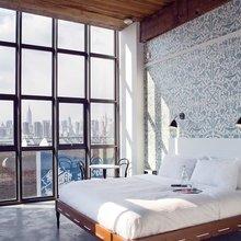 Фотография: Спальня в стиле Кантри, Скандинавский, Квартира, Дома и квартиры – фото на InMyRoom.ru