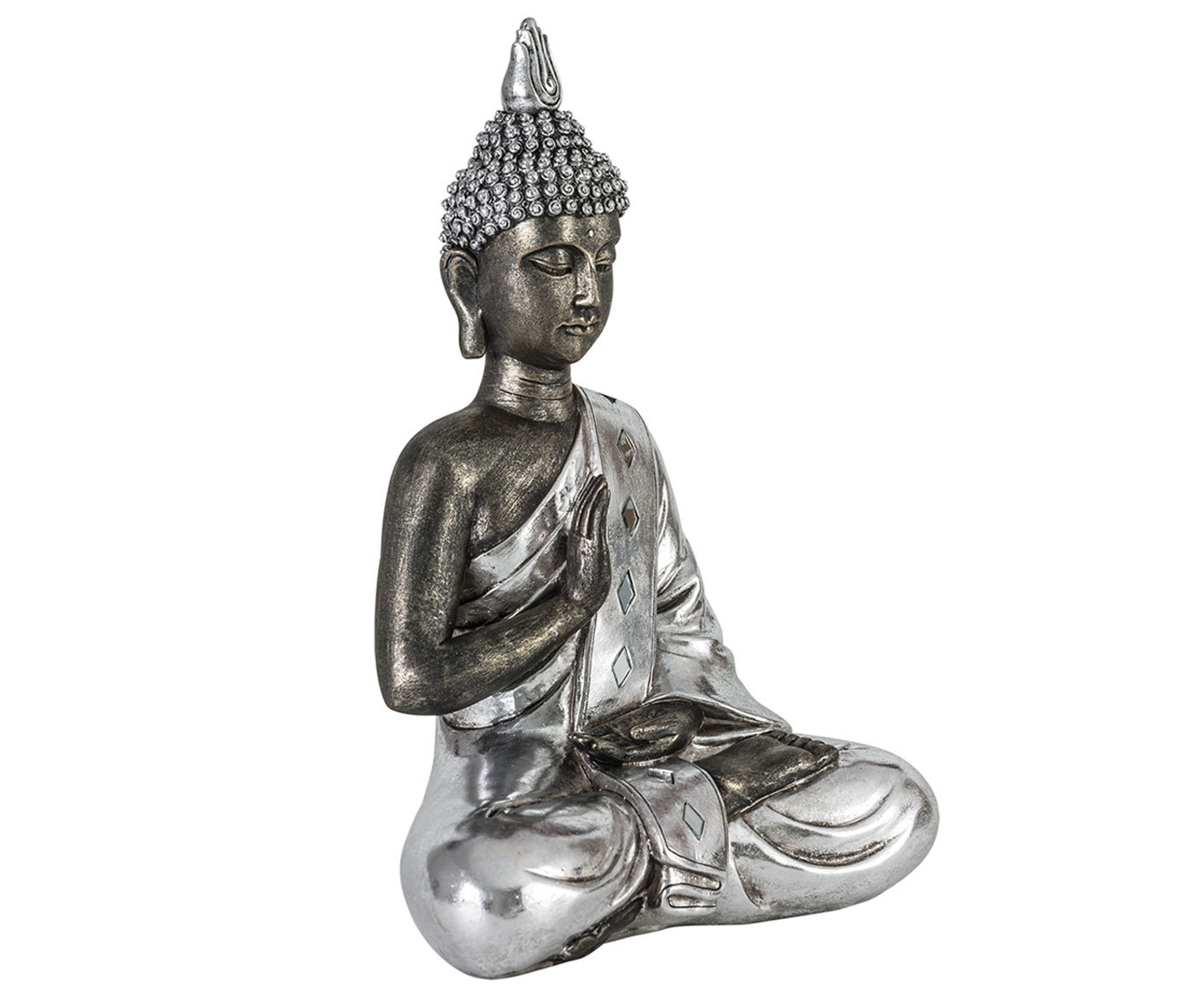 Купить Декоративный элемент Buddha Silver, inmyroom, Китай