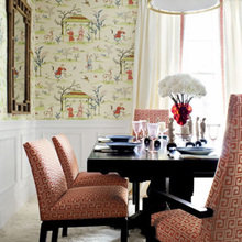 Фотография: Кухня и столовая в стиле Восточный, Декор интерьера, Декор дома, Обои – фото на InMyRoom.ru