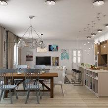 Фотография: Кухня и столовая в стиле Современный, Лофт, Декор интерьера, Квартира, Дома и квартиры, Проект недели, Надя Зотова – фото на InMyRoom.ru