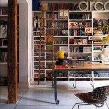 Фотография: Офис в стиле Лофт, Декор интерьера, Декор дома, Библиотека – фото на InMyRoom.ru