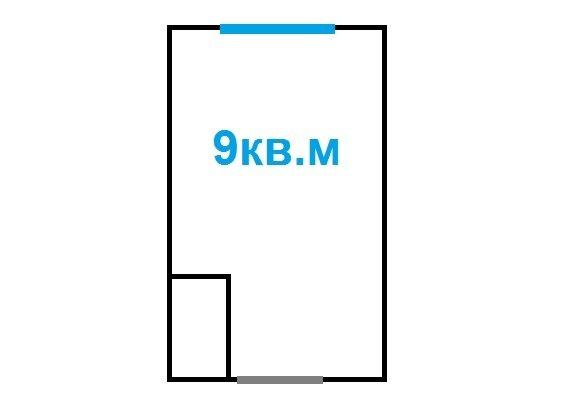 Комната 9 кв.м. в коммуналке