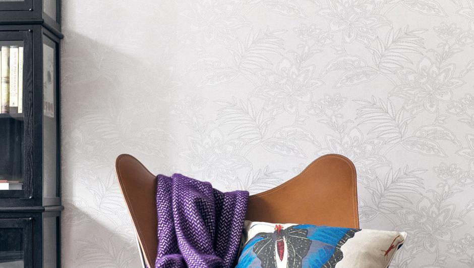 Фотография: Декор в стиле Скандинавский, Современный, Декор интерьера, Дизайн интерьера, Цвет в интерьере, Обои, Стены, Эко – фото на InMyRoom.ru