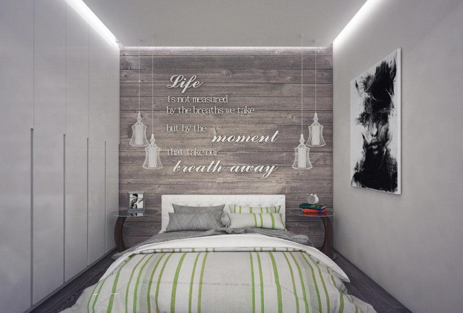 Фотография: Спальня в стиле Лофт, Современный, Квартира, Дома и квартиры, Проект недели – фото на InMyRoom.ru