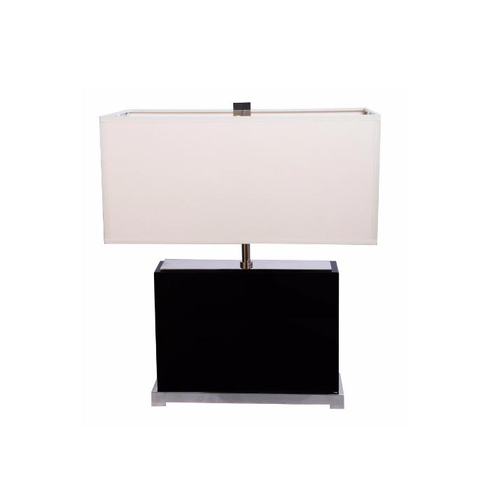 Купить Настольная лампа Crystal с белым абажуром, inmyroom, Китай