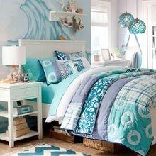 Фотография: Спальня в стиле Кантри, Интерьер комнат, Советы, Стол, Кровать – фото на InMyRoom.ru
