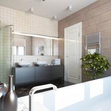 Фотография: Ванная в стиле Лофт, Современный, Эклектика, Квартира, Дом, Дома и квартиры, IKEA – фото на InMyRoom.ru