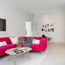 Фото из портфолио Розовый диванчик в интерьере! – фотографии дизайна интерьеров на InMyRoom.ru