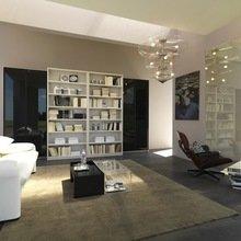 Фотография: Гостиная в стиле Скандинавский, Декор интерьера, Декор дома, Библиотека – фото на InMyRoom.ru