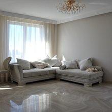 Фото из портфолио Ремонт двухкомнатной квартиры студии в новостройке ЖК Зелёный бор – фотографии дизайна интерьеров на InMyRoom.ru