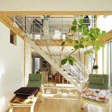 Фотография: Гостиная в стиле Современный, Эко, Дом, Дома и квартиры, Япония – фото на InMyRoom.ru