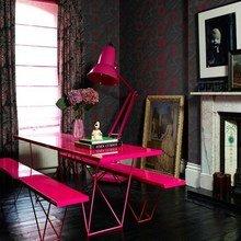 Фотография: Офис в стиле Современный, Эклектика, Декор интерьера, Дизайн интерьера, Цвет в интерьере, Желтый, Розовый, Оранжевый, Неон – фото на InMyRoom.ru