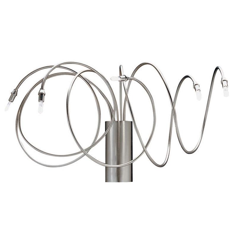 Купить Настенный светильник Metalspot Elettra с арматурой из никелированной меди, inmyroom, Италия