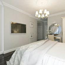 Фото из портфолио Квартира в легком классическом стиле для молодой пары – фотографии дизайна интерьеров на INMYROOM