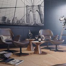 Фото из портфолио Квартира студия для холостяка – фотографии дизайна интерьеров на InMyRoom.ru
