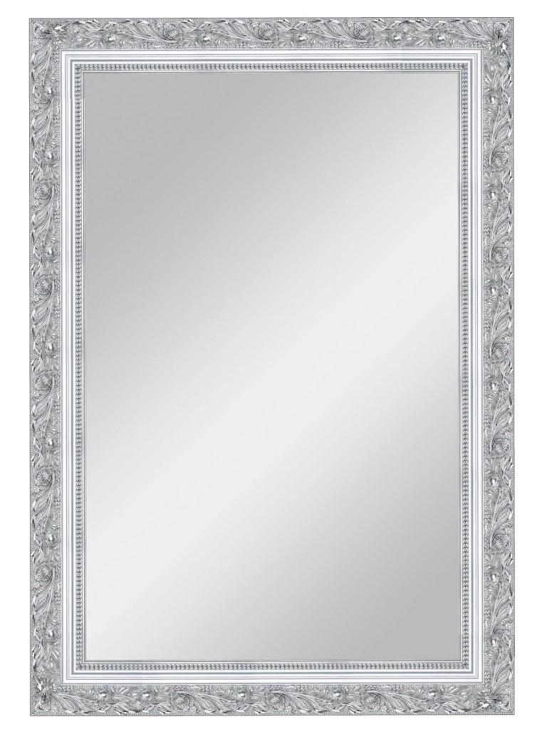 Купить Настенное зеркало Серебряной лоза большое в деревянной раме, inmyroom, Россия
