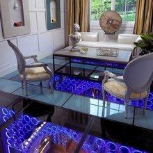 Фотография: Гостиная в стиле Эклектика, Кухня и столовая, Интерьер комнат – фото на InMyRoom.ru