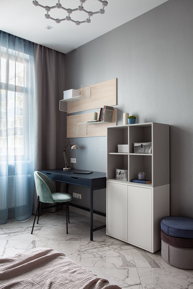 Фото из портфолио Квартира в Санкт-Петербурге для семьи с тремя дочерьми – фотографии дизайна интерьеров на INMYROOM