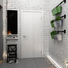 Фотография: Прихожая в стиле Скандинавский, Квартира, Белый, Проект недели, Синий – фото на InMyRoom.ru