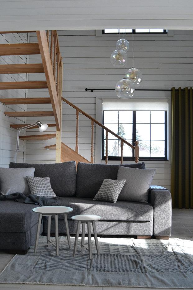 Фото из портфолио Дом в Сертолово – фотографии дизайна интерьеров на INMYROOM