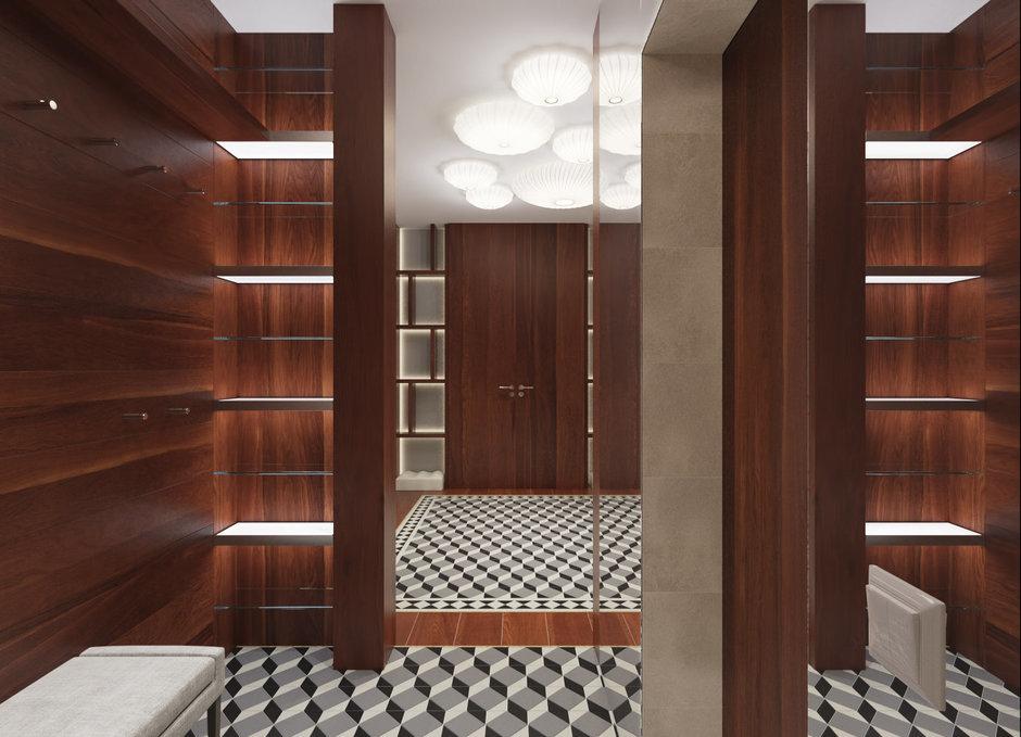Фотография: Гардеробная в стиле Современный, Квартира, Проект недели – фото на InMyRoom.ru