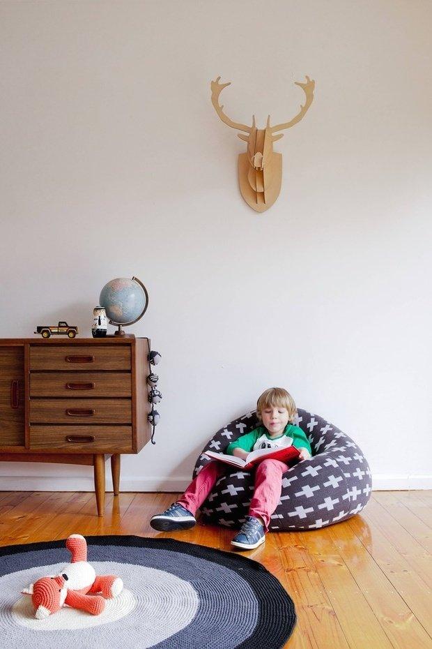 Фотография: Прочее в стиле , Детская, Декор интерьера, Интерьер комнат, Обои – фото на InMyRoom.ru