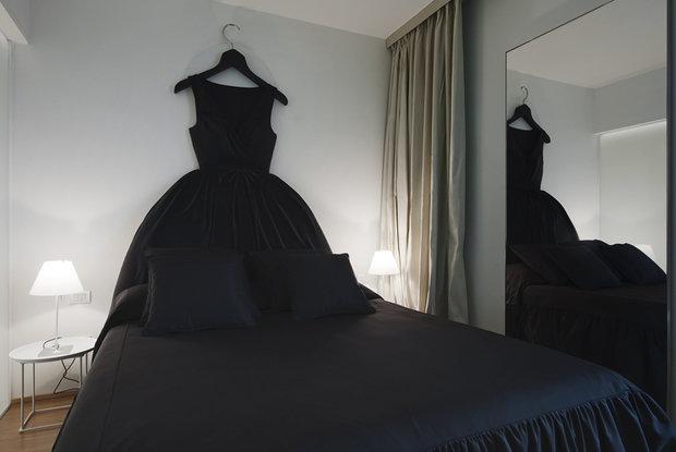 Фотография: Спальня в стиле Современный, Эклектика, Интерьер комнат – фото на InMyRoom.ru