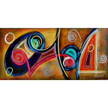 Картина (репродукция, постер): MUSICAL DREAMS - Джеральд Ивей