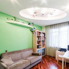 Фотография: Гостиная в стиле Современный, Кухня и столовая, Прихожая, Спальня, Квартира, Дома и квартиры – фото на InMyRoom.ru