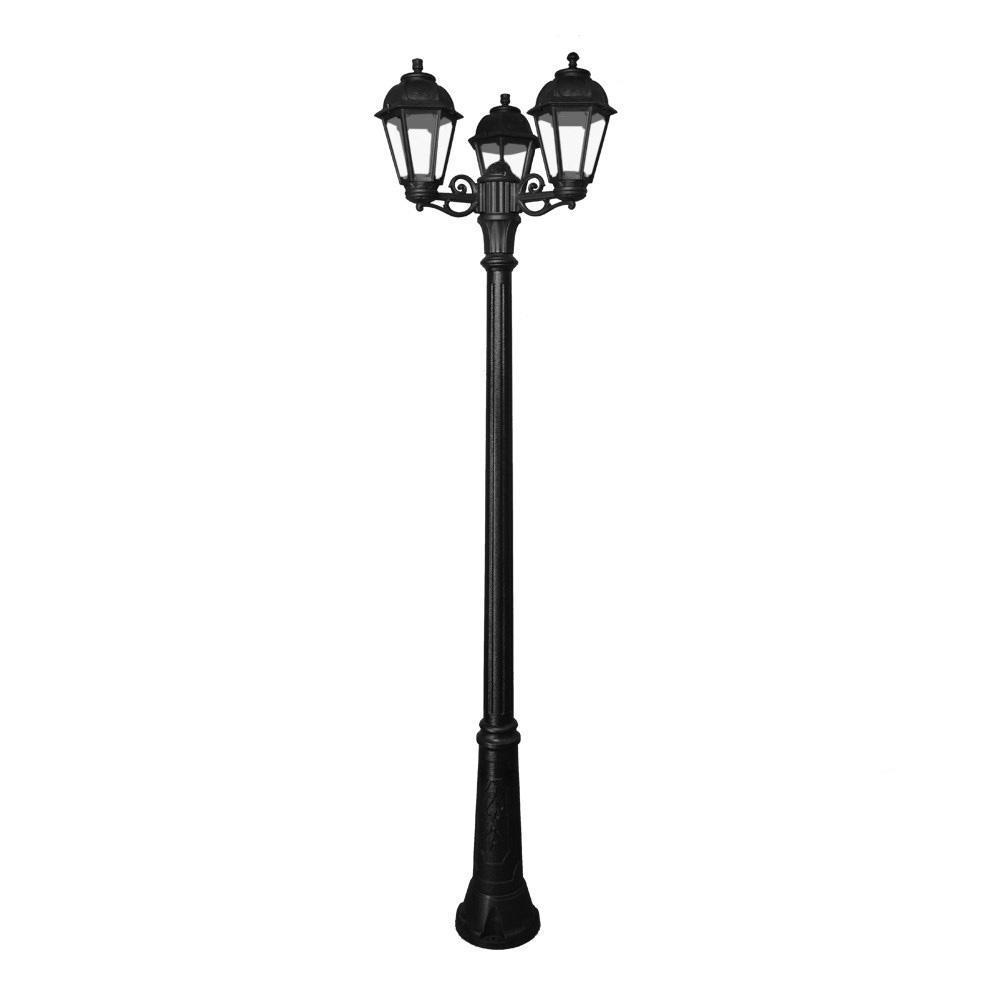 Уличный фонарь Ricu Bisso/Saba черного цвета
