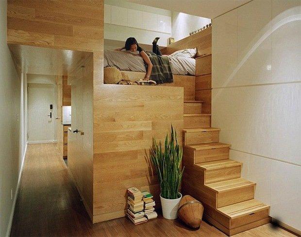 Фотография: Прочее в стиле , Малогабаритная квартира, Квартира, Дома и квартиры – фото на InMyRoom.ru