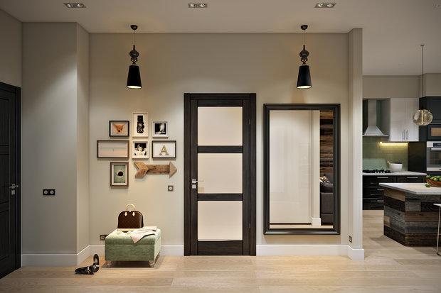 Фотография: Прихожая в стиле Лофт, Современный, Квартира, Проект недели – фото на InMyRoom.ru