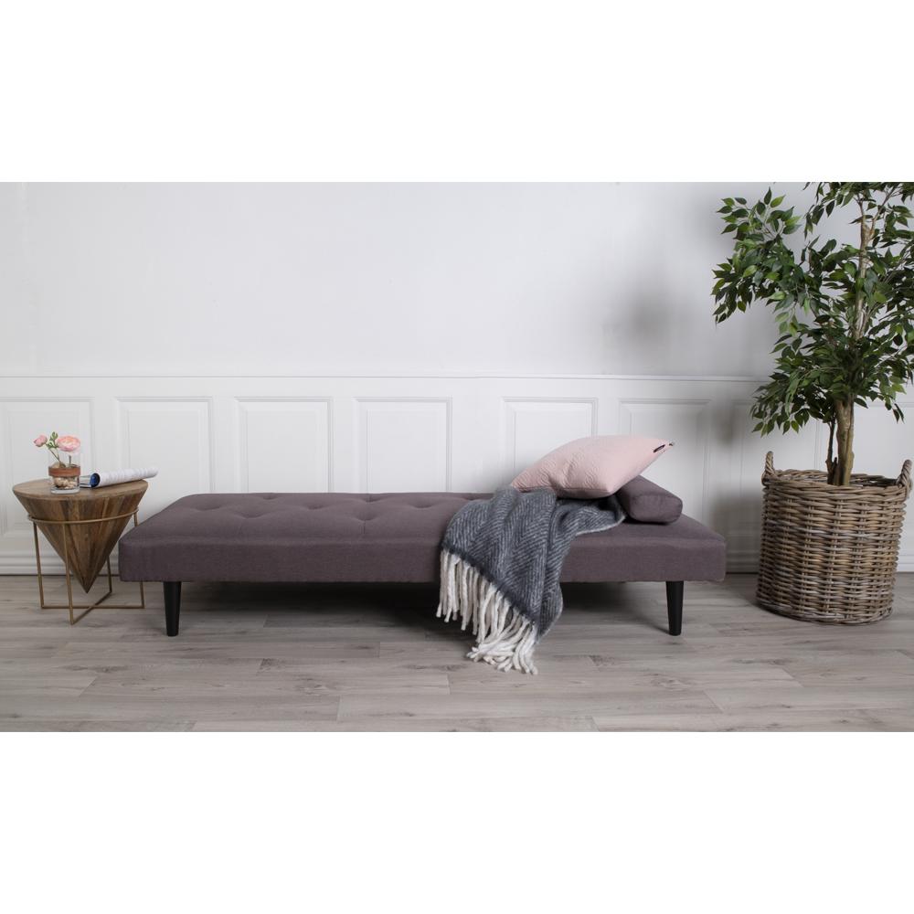 Кушетка пурпурного-серого цвета