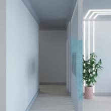 Фото из портфолио Четырехкомнатная квартира-студия, г. Новосибирск – фотографии дизайна интерьеров на INMYROOM