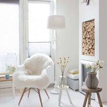 Фотография: Гостиная в стиле Скандинавский, Декор интерьера, Аксессуары, Декор, Белый, Черный, Желтый, Серый, Бирюзовый – фото на InMyRoom.ru