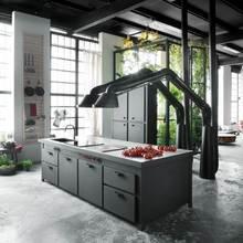 Фото из портфолио Столичный промышленный чердак – фотографии дизайна интерьеров на InMyRoom.ru