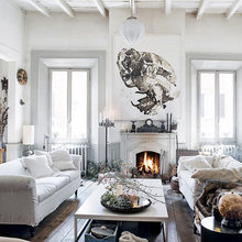 Фото из портфолио Сельская итальянская квартира  – фотографии дизайна интерьеров на INMYROOM