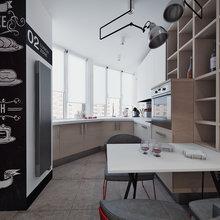 Фото из портфолио Апартаменты для холостяка – фотографии дизайна интерьеров на InMyRoom.ru