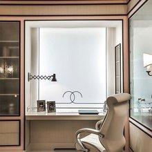 Фотография: Кабинет в стиле Кантри, Интерьер комнат – фото на InMyRoom.ru