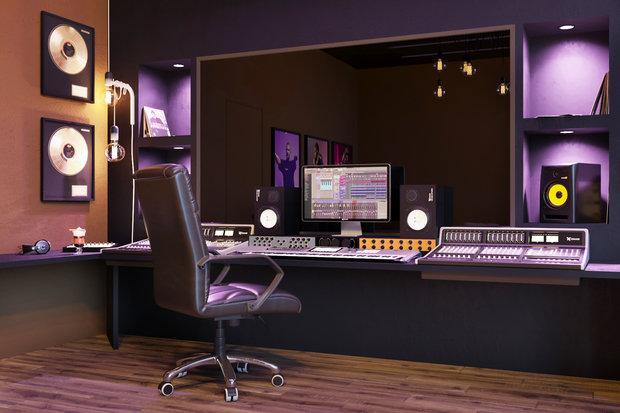 Фото из портфолио RECORDING STUDIO   CREATION – фотографии дизайна интерьеров на INMYROOM