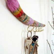 Фотография: Декор в стиле Скандинавский, Прихожая, Декор интерьера, Интерьер комнат, Ключницы – фото на InMyRoom.ru