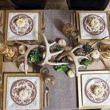 Фото из портфолио сервировка стола с декором – фотографии дизайна интерьеров на INMYROOM