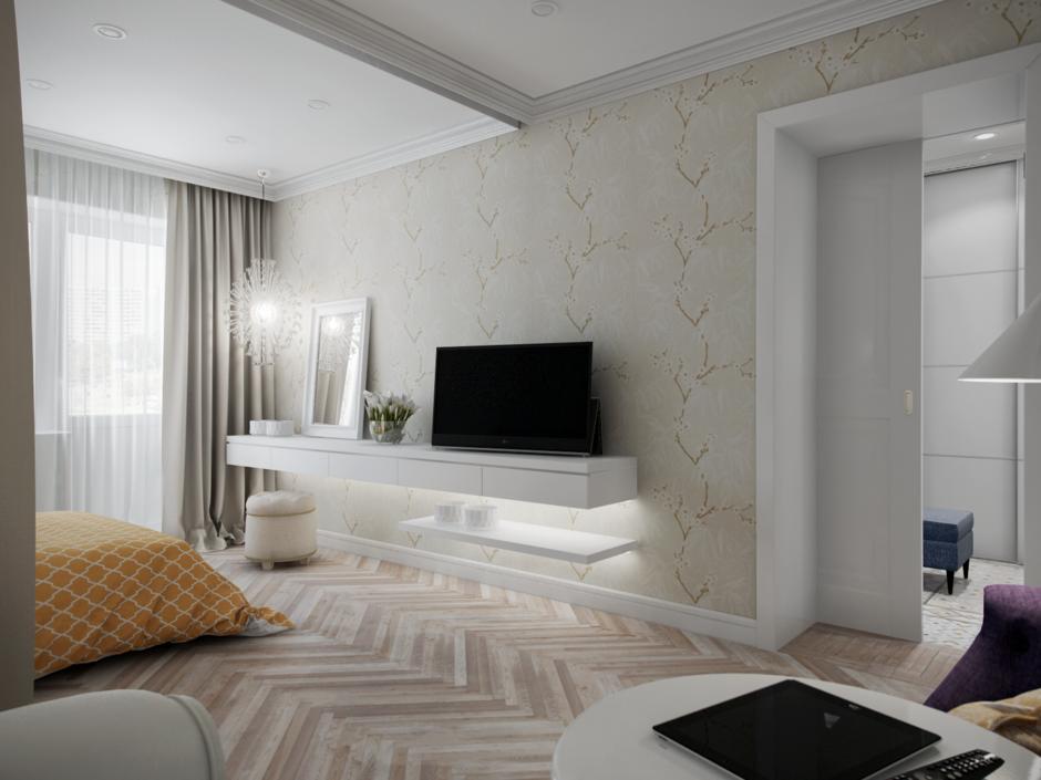 Фотография: Спальня в стиле Прованс и Кантри, Эклектика, Современный, Квартира, Проект недели – фото на InMyRoom.ru