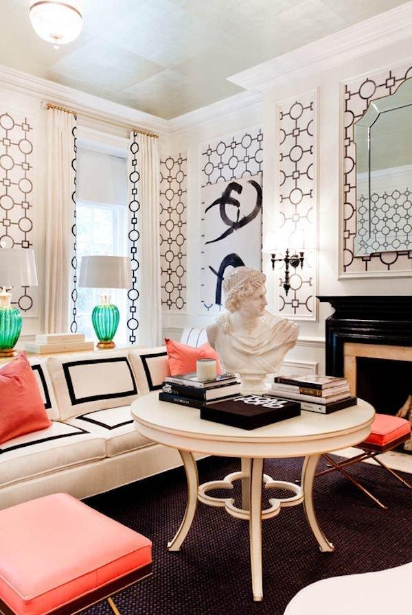 Фотография: Гостиная в стиле Восточный, Эклектика, Декор интерьера, Дизайн интерьера, Цвет в интерьере – фото на InMyRoom.ru